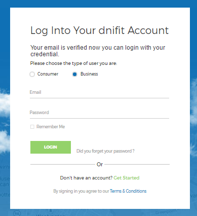 dnifit login screen dnifit academy